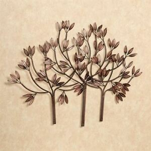 Splendid Forest Metal Wall Art Brushed Bronze $31.99