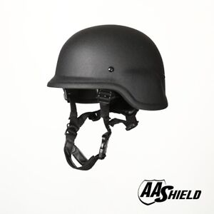 AA Shield Ballistic PASGT M88 Military Safety Tactical Helmet Body Armor IIIA BK