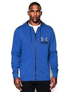 Under Armour 1269734-400 Mens UA Sportstyle Fleece HoodieRoyal