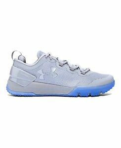 Under Armour Mens UA Charged Ultimate Iced Tonal Training Shoes  Steel