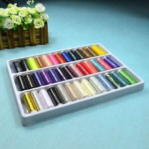 39 Colors Useful Polyester Sewing DIY Thread For Hand Machine 109Yard $7.27