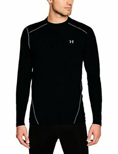 Under Armour 1250138-001 Evo Coldgear Fitted Crew - M- Choose SZColor.