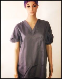 Lot of 50 pants & 50 tops: Unisex Medical Scrubs: Top & Pants S-2XL