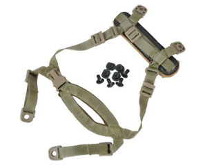 4 Points Tactical Helmet Chin Strap with Bolts and Screws for MICH ACH Helmet