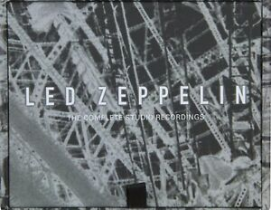 Complete Studio Recordings Led Zeppelin 10 CD Box set New Sealed US MadeShipped