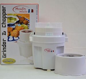 Easy to use Moulin Wet Dry Chutney Coffee Spice Meat Chopper and Grinder