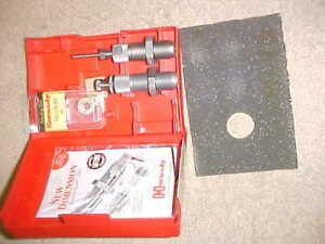 Reloading Hornady Full Length Die Set 30 Luger Caliber
