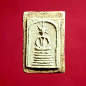 Phra Somdej LP Toh Wat KetChaiyo Antique Rare Thai Amulet Real Old Respect