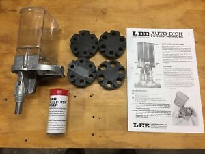 Lee Auto Disk Powder Measure Used Plus Extras