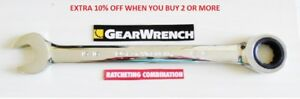 Gearwrench Flat Ratcheting Wrench Any Size SAE or Metric Combination Ratchet $8.83