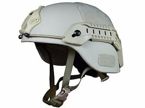 Bullet proof helmet - MICH with low cut  ballistic level 3a against .44 Mag