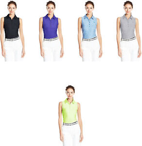 Under Armour Women's Zinger Sleeveless Polo 8 Colors