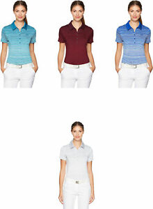 Under Armour Women's Zinger Short Sleeve Novelty Polo 4 Colors