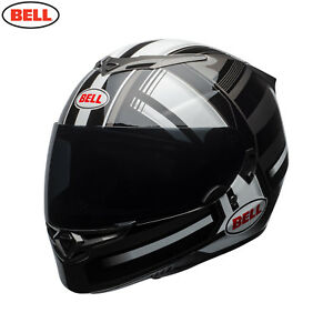 Bell 2018 RS-2 Full Face Motorcycle Helmet - Tactical WhiteBlackTitanium