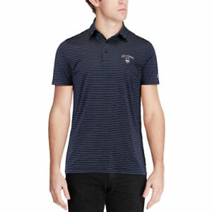 Under Armour UConn Huskies Navy Playoff Stripe Performance Polo - College