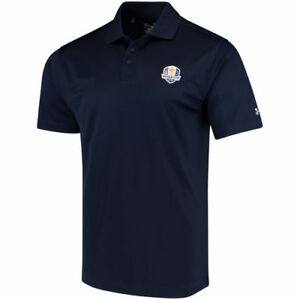 Under Armour Navy 2018 Ryder Cup Performance Polo - Golf
