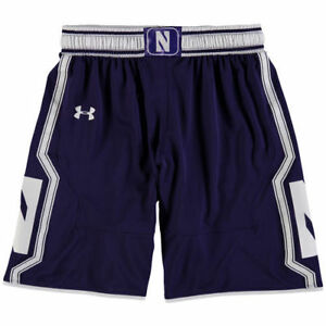 Under Armour Northwestern Wildcats Youth Purple Replica Basketball Shorts