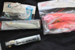 Lot of lures 3 Big game smoker bait package and ILander lure 5 total