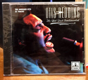 OTIS REDDING It's Not Just Sentimental CD NEW SEALED STAX 22 TRACKS