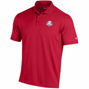 Under Armour Red 2018 Ryder Cup Performance Polo - Golf