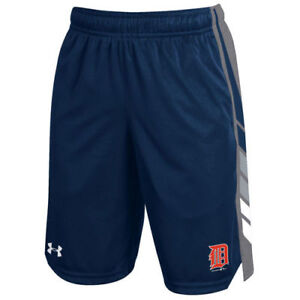 Under Armour Detroit Tigers Youth Navy Select Shorts - MLB