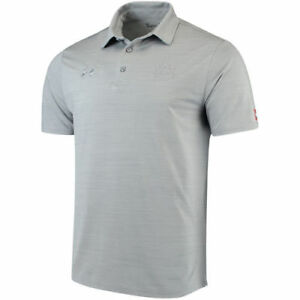 Under Armour Auburn Tigers Gray Collegiate Playoff Performance Polo - College