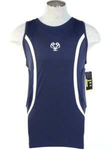 Under Armour MPZ Dark Blue Padded Compression Basketball Tank Men's NWT