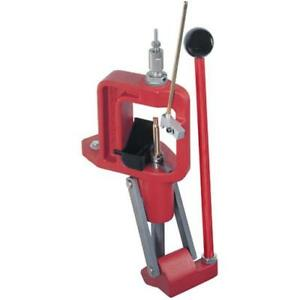 Hornady 085001 Lock-N-Load Classic Loader Single Stage Press Cast Frame Red