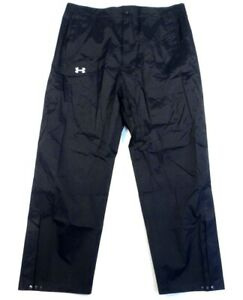 Under Armour Coldgear Black Loose Fit Waterproof Track Pants Men's NWT