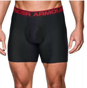 Under Armour UA Original Boxerjock - Mens Boxer Short- Black - Medium 9 Inch NEW