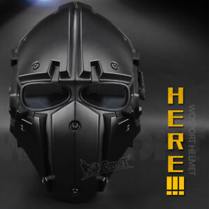Fashion Tactical Helmet Bicycle Cycling Motorcycle Helmet Hunting Mask Full Face