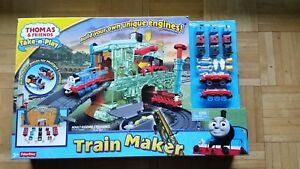 Fisher Price Thomas & Friends Take n Play Train Maker Playset