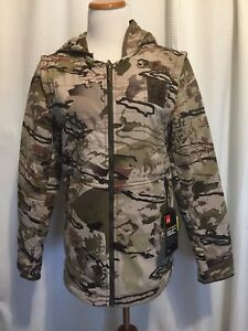 NWT Mens Camo Under Armour Barren Jacket
