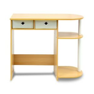 Computer Desk With Drawers Modern Table For Kids Home Bedrooms New Space Saver