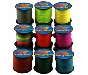 300M PE Braided 4 Strands Super Strong Testing Spectra Extreme Sea Fishing Line $4.98