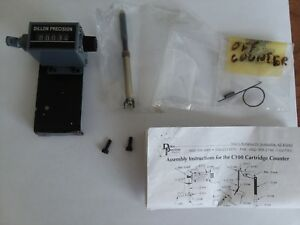 Dillon Precision C100 Analog Cartridge Counter reloading press mounted