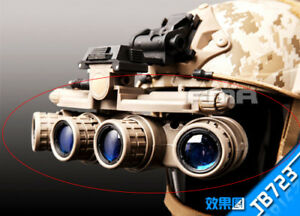 Tactical GP MVG 18 Night Vision Goggle NVG DUMMY For Airsoft Hunting FMA-TB723