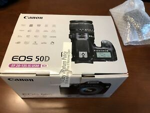MINT Canon EOS 50D EF 28-135 Free CF Card