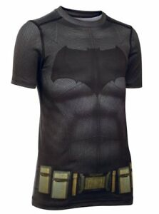 Under Armour Batman Fitted Compression Short Sleeve Top - Youth -