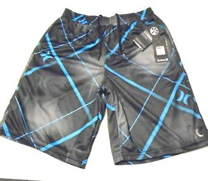HURLEY + NIKE DRY FIT Collaboration Active Athletic Workout Shorts Mens S NWT 3