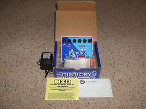 Electro Harmonix Deluxe Memory Man Tap Tempo 1100-MN3005 Chips-Collectors Item!