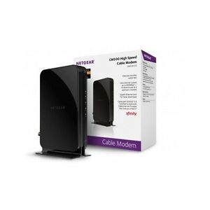 NETGEAR High Speed Cable Modem for Comcast XFINITY Time Warner Internet Gaming