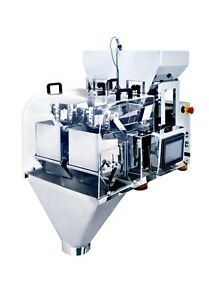 NEW ~ 110V CN-X2-2-1 Two Head Weighing machine for powder particle  slice