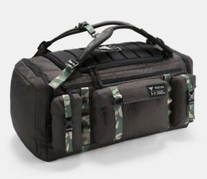 UA x PROJECT ROCK Under Armour EXCLUSIVE USDNA Range Duffel-Bag NWT