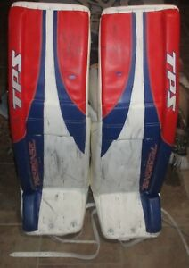 NY Rangers HENRIK LUNDQVIST 2007 GAME USED PLAYOFF TPS PADS STEINER LOA AMAZING