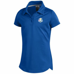 Under Armour Girls Youth Royal 2018 Ryder Cup Leader Polo - Golf