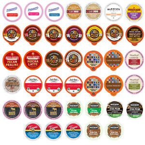 40ct. Flavored Coffee Single Serve Cups For Keurig K cup Variety Pack Sampler