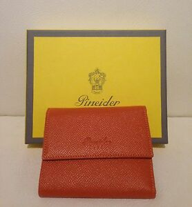 Pineider Wallet Fashion - Pineider Credit Card Holder Man/Womens