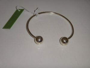 SEED & SAGE Women's Silver Tone 925 Sterling Silver Cuff Bracelet MADE in MEXICO