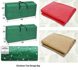 Heavy Duty Large Artificial Christmas Tree Storage Bag for Holiday Clean up $14.35